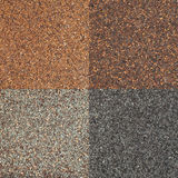 Roof shingle texture Stock Photos