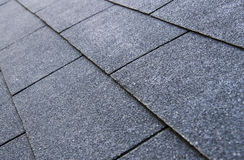 Roof shingles Stock Image