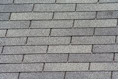 Roof Shingles. Image of gray old roof shingles Stock Photography