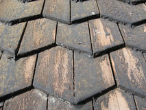 Roof shingles Royalty Free Stock Photography