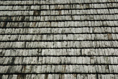 Roof shingles. Texture detail of roof shingles Stock Photo