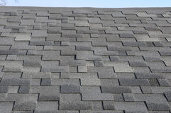 The roof shingles as a background or texture Stock Photography