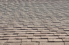 Roof shingles as background or texture Royalty Free Stock Photography