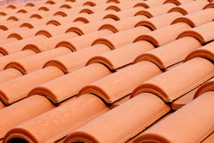 Roof Shingles Background Stock Photo