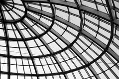 Roof of the shopping mall. Roof in a corner of West Edmonton Mall Alberta Canada Royalty Free Stock Photos
