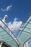 Roof of shoppingmall Royalty Free Stock Photo