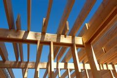 Roof skeleton closeup Stock Image
