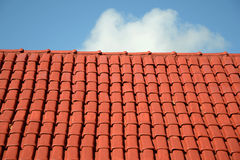 Roof and sky royalty free stock photography