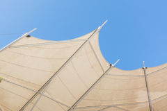 Roof and sky Stock Photos