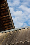Roof from slate Royalty Free Stock Images