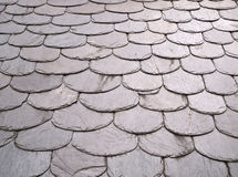 Roof slate background Royalty Free Stock Image