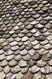 Roof of slate tile Royalty Free Stock Photography