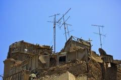 Roof of slum Stock Photos