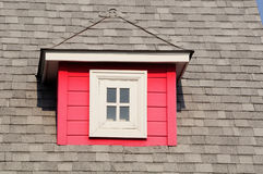 Roof. It small red roof on the roofs Royalty Free Stock Photography