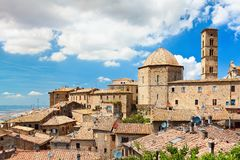 Roof of a small town in Tuscany Royalty Free Stock Image