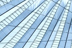 The roof of the Sony-Center Royalty Free Stock Photo