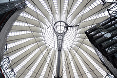 Roof of sony center - berlin. Germany Stock Photo