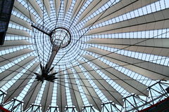 Roof of Sony Center in Berlin Stock Images