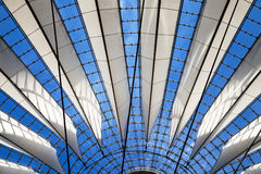 Roof of the Sony Center Royalty Free Stock Images