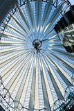 roof sony center postdamer platz berlin germany Royalty Free Stock Photo