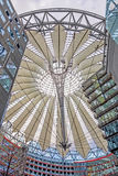 Roof of Sony Center at Potsdamer Platz, Berlin Royalty Free Stock Photography