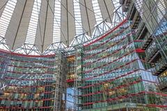 Roof of Sony Center at Potsdamer Platz, Berlin Stock Image