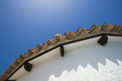 Roof from a Spanish villa Stock Images