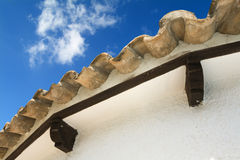 Roof from a Spanish villa Stock Photo