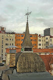 Roof with a spire. Estonia Tallinn Royalty Free Stock Images