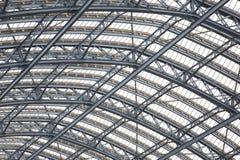 Roof of St Pancras Railway Station Stock Photos