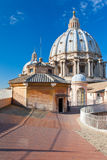 Roof of St. Peter's Basilica, Vatican Stock Image