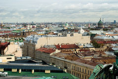 Roof St.Petersburg Royalty Free Stock Photography