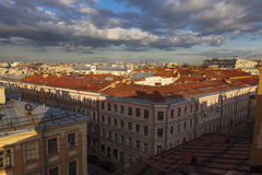 Roof St. Petersburg Royalty Free Stock Photography