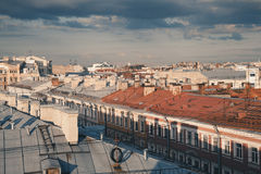 Roof St. Petersburg Royalty Free Stock Photos