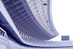 Roof of the stadium Stock Image