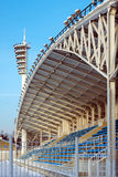 The roof of the stadium. Royalty Free Stock Photo