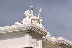The roof of the statue Royalty Free Stock Photos