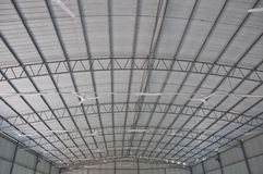 Roof of steel Stock Photo