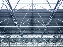 Roof Steel construction Modern Architecture detail Stock Photos