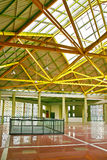 Roof steel interior architecture Royalty Free Stock Images