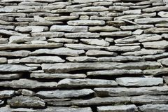 Roof of stones Stock Photography