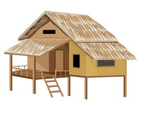 Roof Straw hut Royalty Free Stock Photos