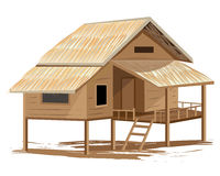 Roof Straw hut Royalty Free Stock Photography