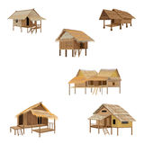 Roof Straw hut Royalty Free Stock Image