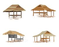Roof straw hut. Vector design Vector Illustration
