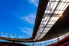 Roof structure detail, Emirates Stadium Royalty Free Stock Photo