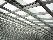 Roof structure of Flower Dome GBTB Royalty Free Stock Photo