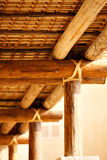 The roof structures of ancient Arabia Royalty Free Stock Photography