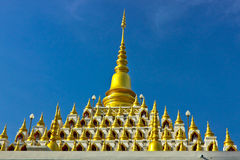 Roof style of Burmese temple Stock Photos