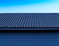 Roof symmetry background royalty free stock photo